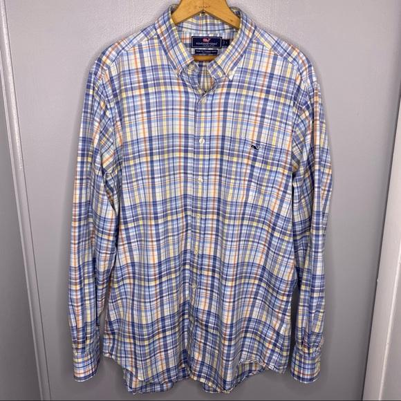 VINEYARD VINES Plaid Slim Fit Tucker Shirt